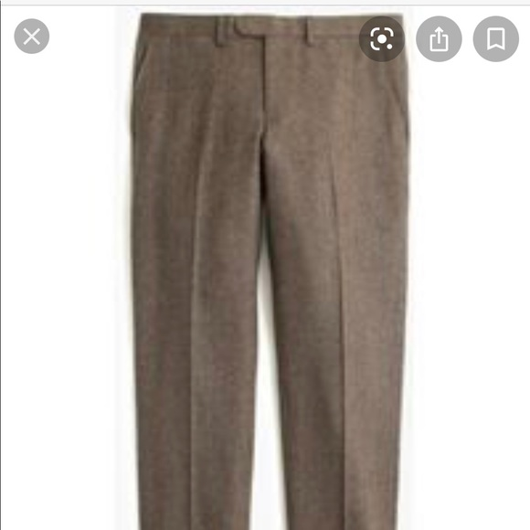 J.Crew Bowery chino Italian fabric wool pants w33